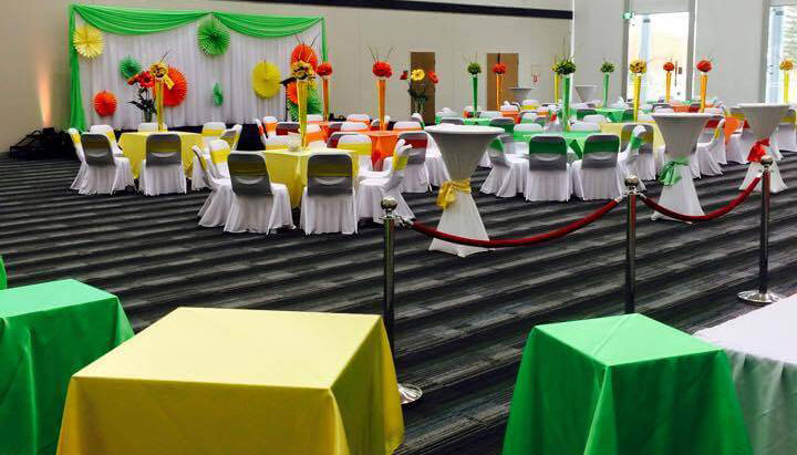 Impressions catering rockingham services offered for Staff decor gemenos