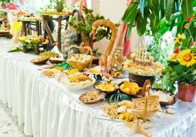 budgeted wedding catering